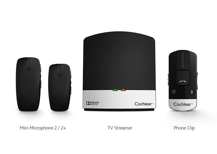 Fotografía de cerca de Mini Microphone 2/2+, TV Streamer y Phone Clip