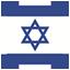 Israeli flag icon
