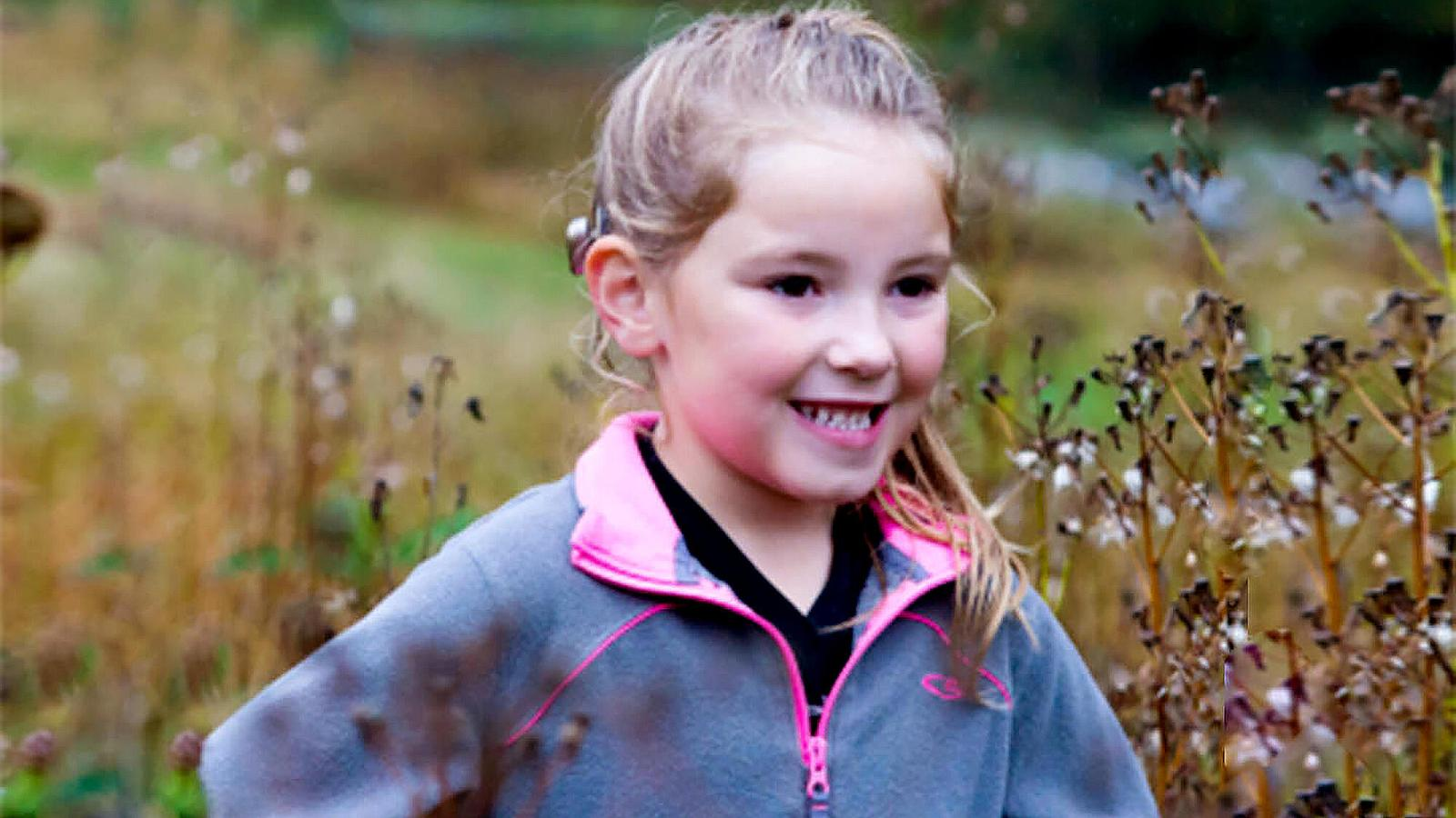 Baha recipient Isabella plays outdoors