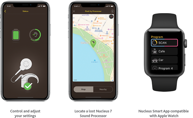 Apple Watch用Nucleus Smartアプリ