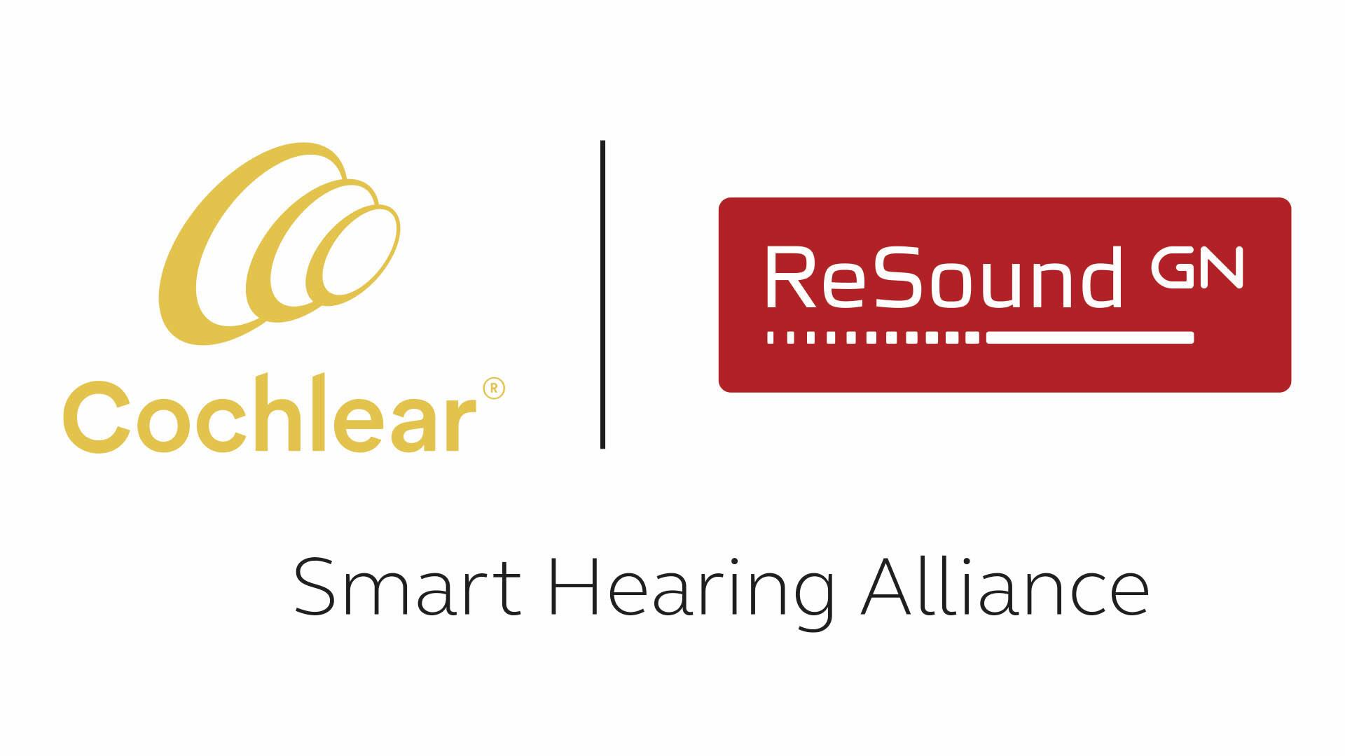Cochlear and ReSound logos